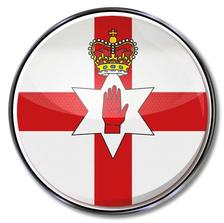 Red Button Northern Ireland Illustration