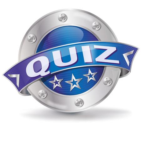 Button Quiz Illustration