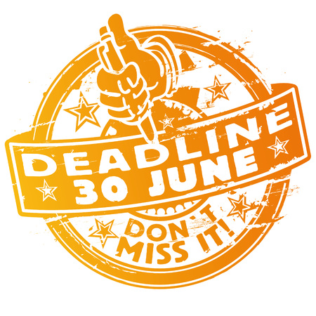 Stamp deadline June 30th