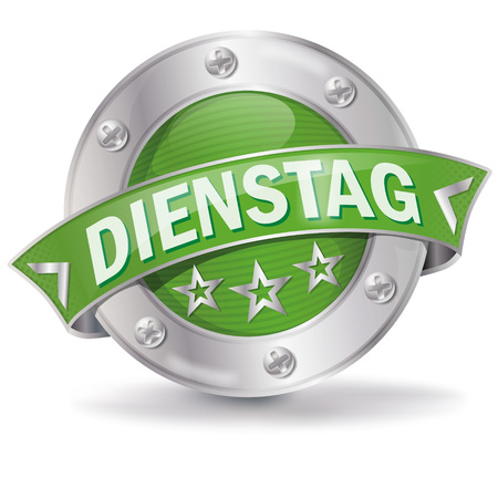 Dienstag symbol design Illustration
