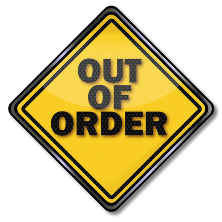 Shield with out of order