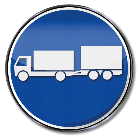 Shield with trailer and small biaxial trailer