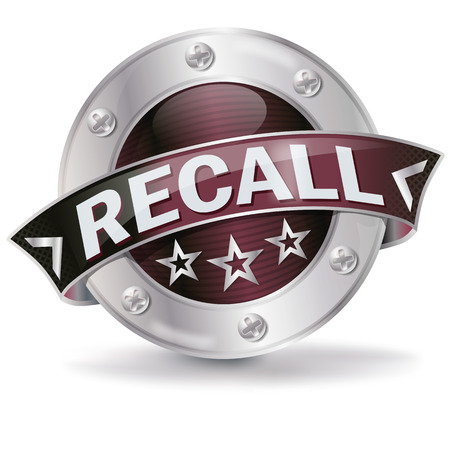 Button with recall