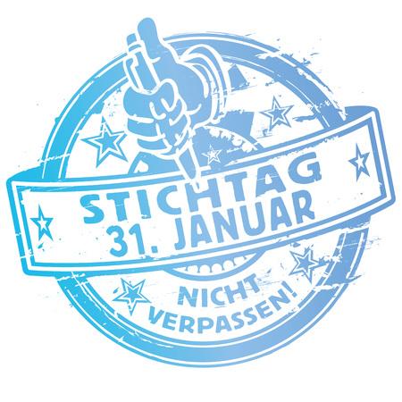 Rubber Stamp deadline January 31st