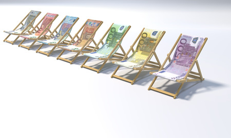 Folding chairs in a range from 5 to 500 euros and making money
