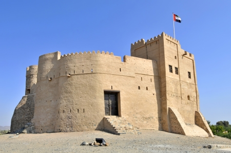 history building: Fujairah Fort in the United Arab Emirates