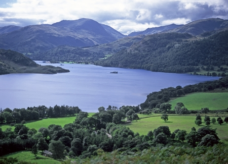 Ullswater Lake District National Park Cumbria England Stock Photo - 22733199