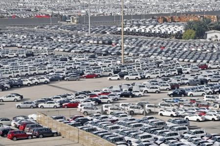 storing: Dockside storage compounds for vehicles United Arab Emirates