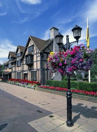 shakespearean: William Shakespeares birthplace at Stratford upon Avon Wawickshire England