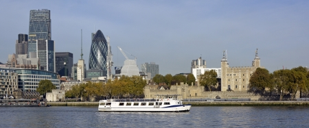 nicknamed: The ever changing London skyline with the addition of the  nicknamed  Cheesegrater building