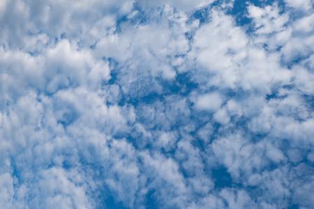 altocumulus: Altocumulus clouds and Blue sky Stock Photo