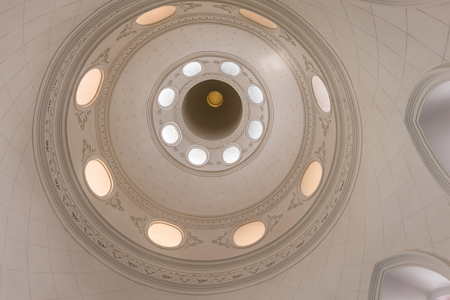 cupolas: The ceiling and cupolas of church in Thailand