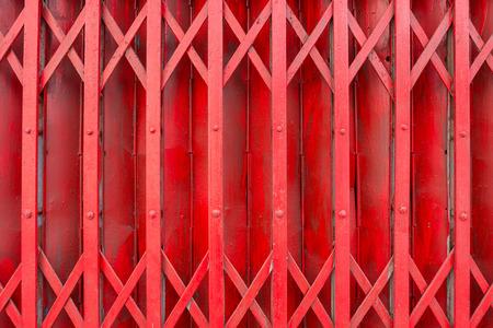 steel door: Close up old slide steel door, texture