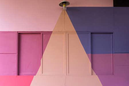 colorful (purple, blue pink and beige) wall as background, texture