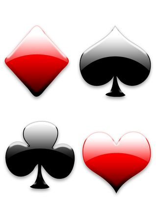 playing card signs photo