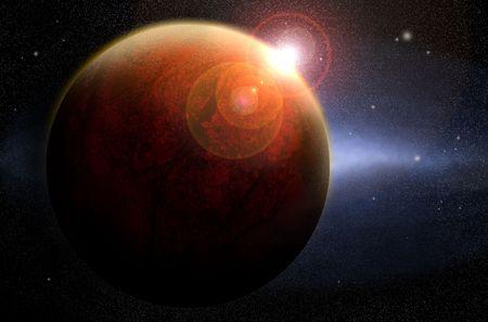 venus: space