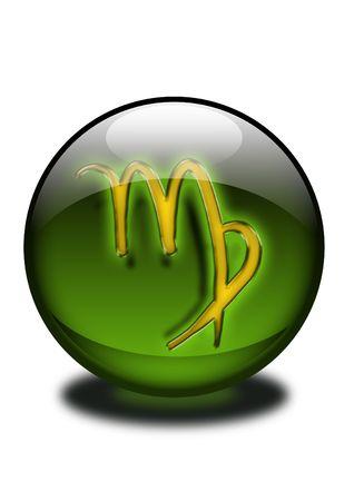 virgo-zodiac sign photo