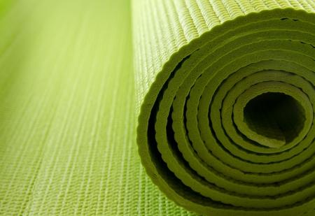 yoga mattress Stock Photo - 8218127