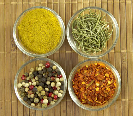 Variety of spices photo