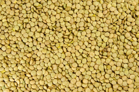 alimentary:  Uncooked raw lentils background Stock Photo