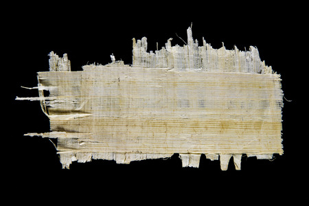 Piece of papyrus paper Stock Photo