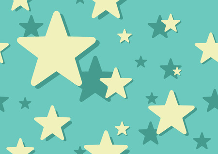 Star background with repeating pattern Illustration