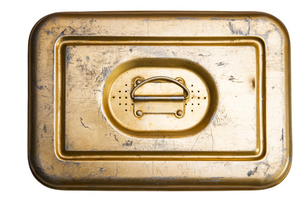 tin: Old tin box