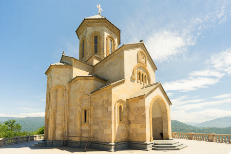 Sameba Holy Trinity Church, Batumi Georgia Stock Photo