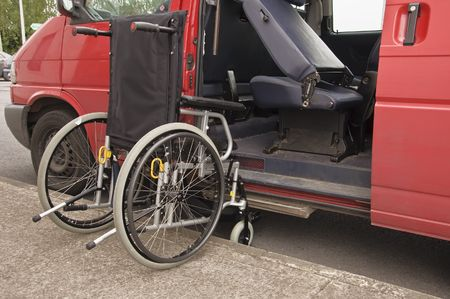 wheelchair facilitate van