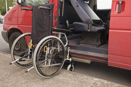 facilitate: wheelchair facilitate van