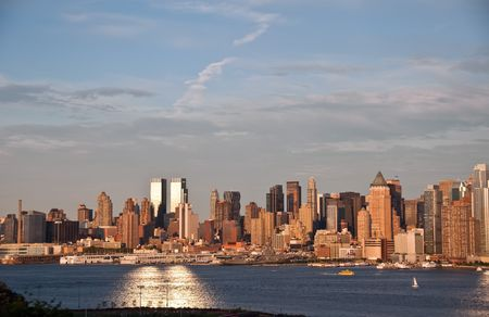 Panorama of New York city  Stock Photo - 5455208