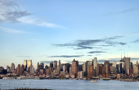 photo new york cityscape skyline, usa photo