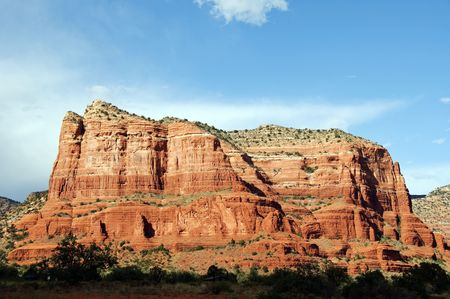 Landscape of Cathedral rock at Sedona Arizona Stock Photo - 5547765