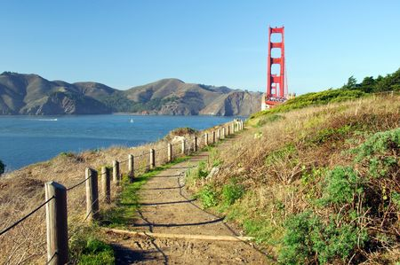 ca: Golden gate bridge, san francisco, ca, usa Stock Photo