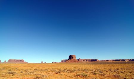 pano: photo pano landscape of monument valley, utah, usa