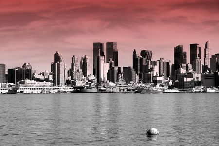 photo capture of new york city, nyc, usa photo