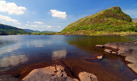 beautiful scenic landscape of county kerry, ireland Stock Photo - 5984104