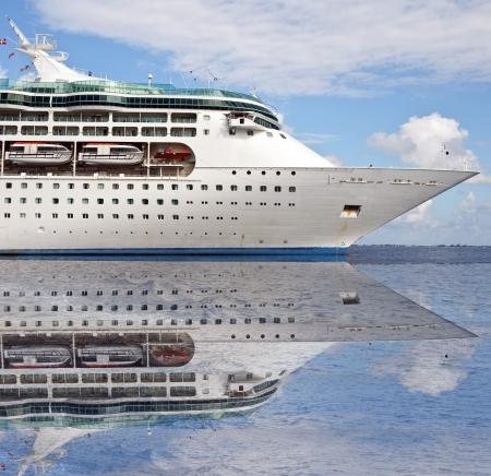 photo of a ocean sea cruise ship