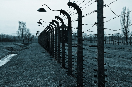 photo Nazi Germanys concentration and extermination camps Stock Photo