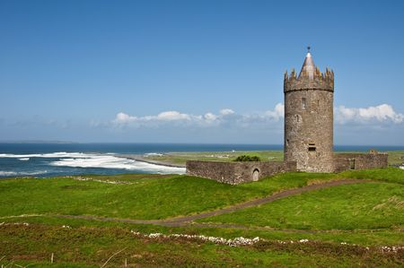 a old irish castle in the west of ireland Reklamní fotografie