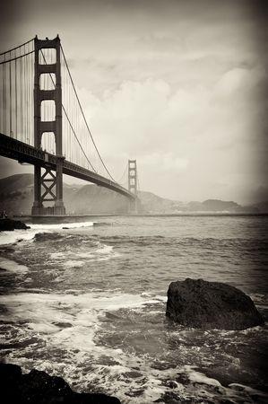 Foto von schönen golden Gate Bridge in San francisco Standard-Bild - 6516291
