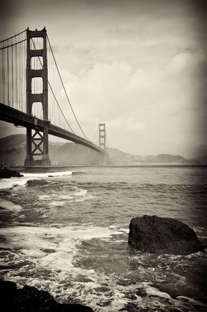 suspension bridge: photo beautiful golden gate bridge in san francisco
