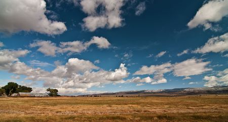 photo vibrant beautiful scenic landscape with sky and clouds Stock Photo - 6564457
