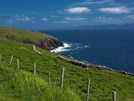 photo beautiful scenic vibrant landscape and seacape west ireland Stock Photo - 6564494