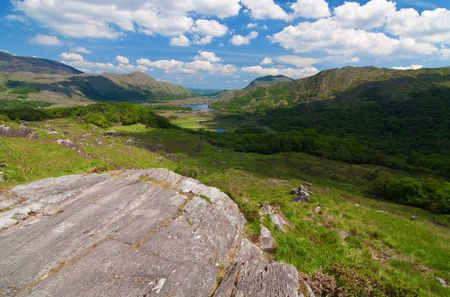 photo vibrant scenic landscape from the west of ireland Stock Photo - 6564596