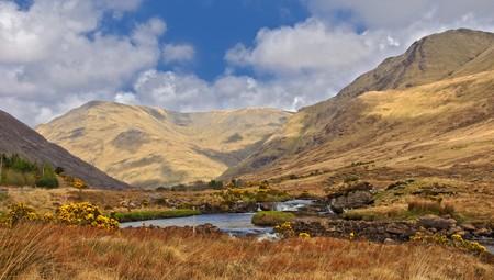 photo scenic nature landscape famous connemara protected landscape Stock Photo - 7271903