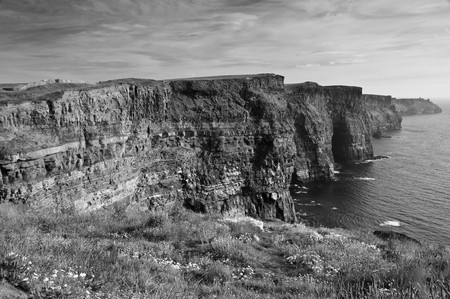 famous cliffs of mohair west coast ireland Stock Photo - 7302967