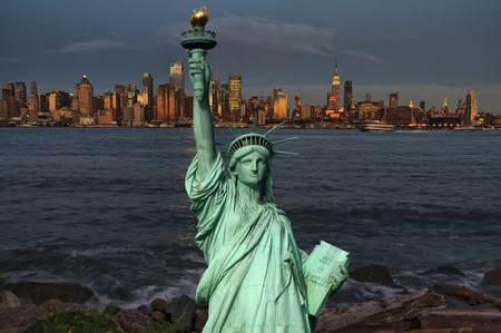 photo new york cityscape skyline, usa photo