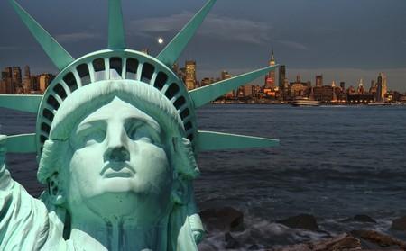 new york cityscape, tourism concept photograph Stock Photo - 7415198
