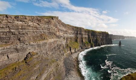 photo beautiful scenic landscape from the west coast ireland photo